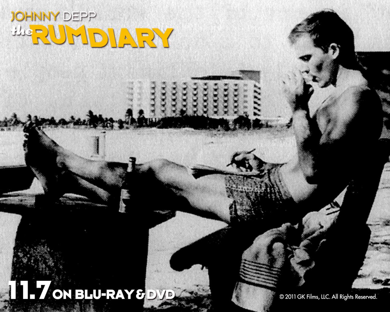 ジョニー・デップ演じるハンター・S・トンプソン『ラム・ダイアリー』BD&DVD発売 - TOWER RECORDS ONLINE