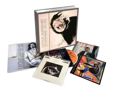 キャプテン・ビーフハート、4枚組CDボックス『Sun Zoom Spark: 1970 to ...