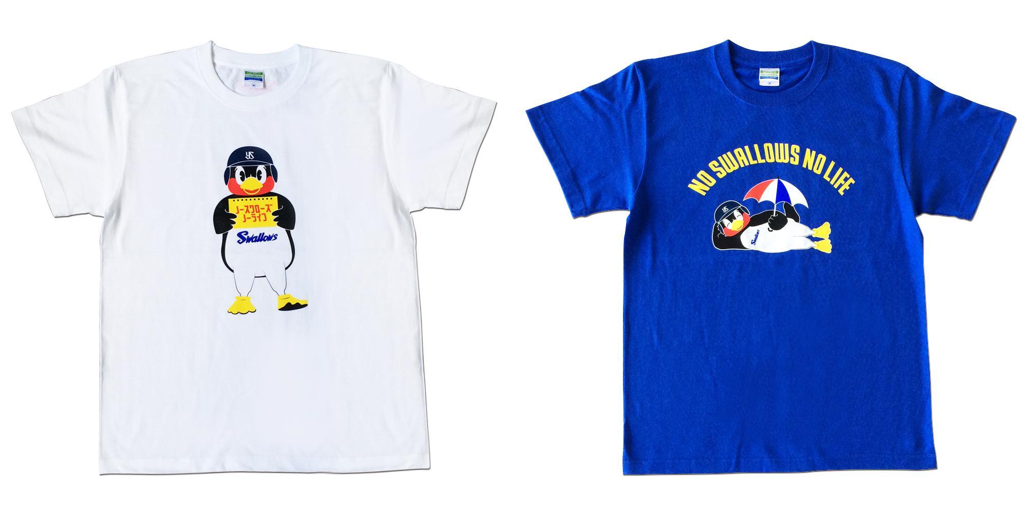 NO SWALLOWS, NO LIFE.Tシャツ