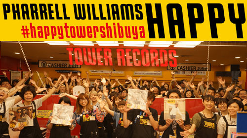 TOWER RECORDS SHIBUYA STAFF