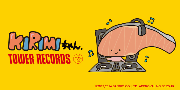 KIRIMIちゃん. × TOWER RECORDS