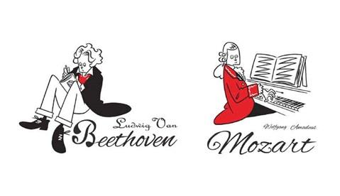 Wearthemusic タケウチアツシ 426 モーツァルトとベートーヴェンを