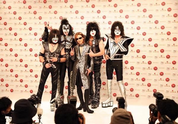 YOSHIKI、「YOSHIKI feat. KISS <YOSHIKISS>」として「第70回NHK紅白 ...