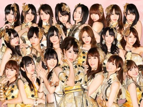 CDといっしょに待ち受け画像を〈フラゲ〉! AKB48の限定企画が